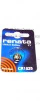 "Литиевая батарейка ""Renata"" CR1025"