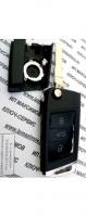 Корпус ключа выкидушка  VOLKSWAGEN 3 кн хром(для старого корпуса