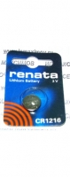 "Литиевая батарейка ""Renata"" CR1216"