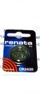 "Литиевая батарейка ""Renata"" CR2430"
