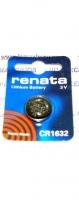 "Литиевая батарейка ""Renata"" CR1632"