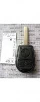 Корпус ключа BMW HU92 овал 3 кн.