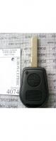 Корпус ключа BMW HU92 овал 2 кн.
