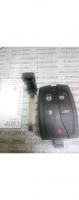 Корпус ключа LAND ROVER SMART 5кн Лезвие HU101