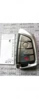 Корпус ключа BMW SMART NEW 4кн(Батарейка на корпусе)Лезвие HU178